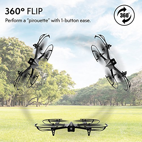 """61qKz j4kvL - GoPro Compatible HD Camera Drone - """"Force1 F100"""" Brushless Motor Drone for Beginners and Pros Extends Drones Flight Time (Camera Not Included)"""