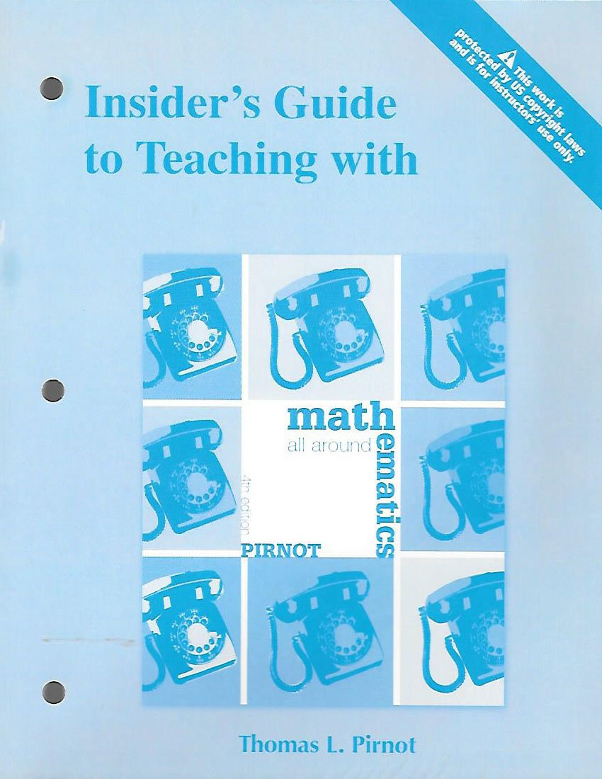 Insider's Guide to Teaching with Mathematics All Around PDF