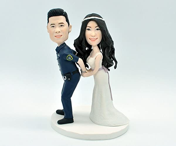 CUSTOM Cake Topper, Wedding Cake Topper , Cartoon Cake Topper, Wedding  Topper, Wedding