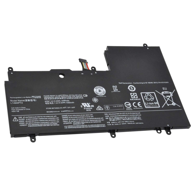 Bateria L14M4P72 L14S4P72 Lenovo YOGA3 14 Yoga 700-14ISK Yog