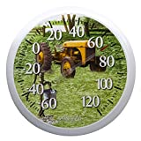 Springfield Tractor Low Profile Patio Thermometer (13.25-inch)