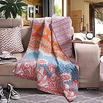 Boho Throw Blankets New Amazon Country Chic Decorative Throw Blanket Soft Plush Floral