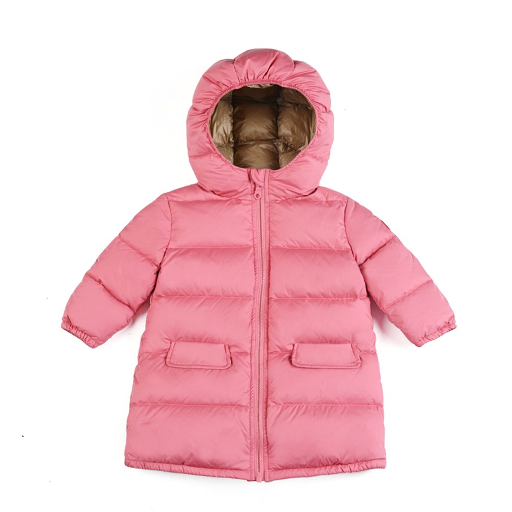 Nanny McPhee Children Down Coat Unisex Toddler Windproof Long Down Puffer Jacket Outwear Kids Clothing