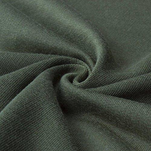 Yieune - Camisas - para mujer Verde