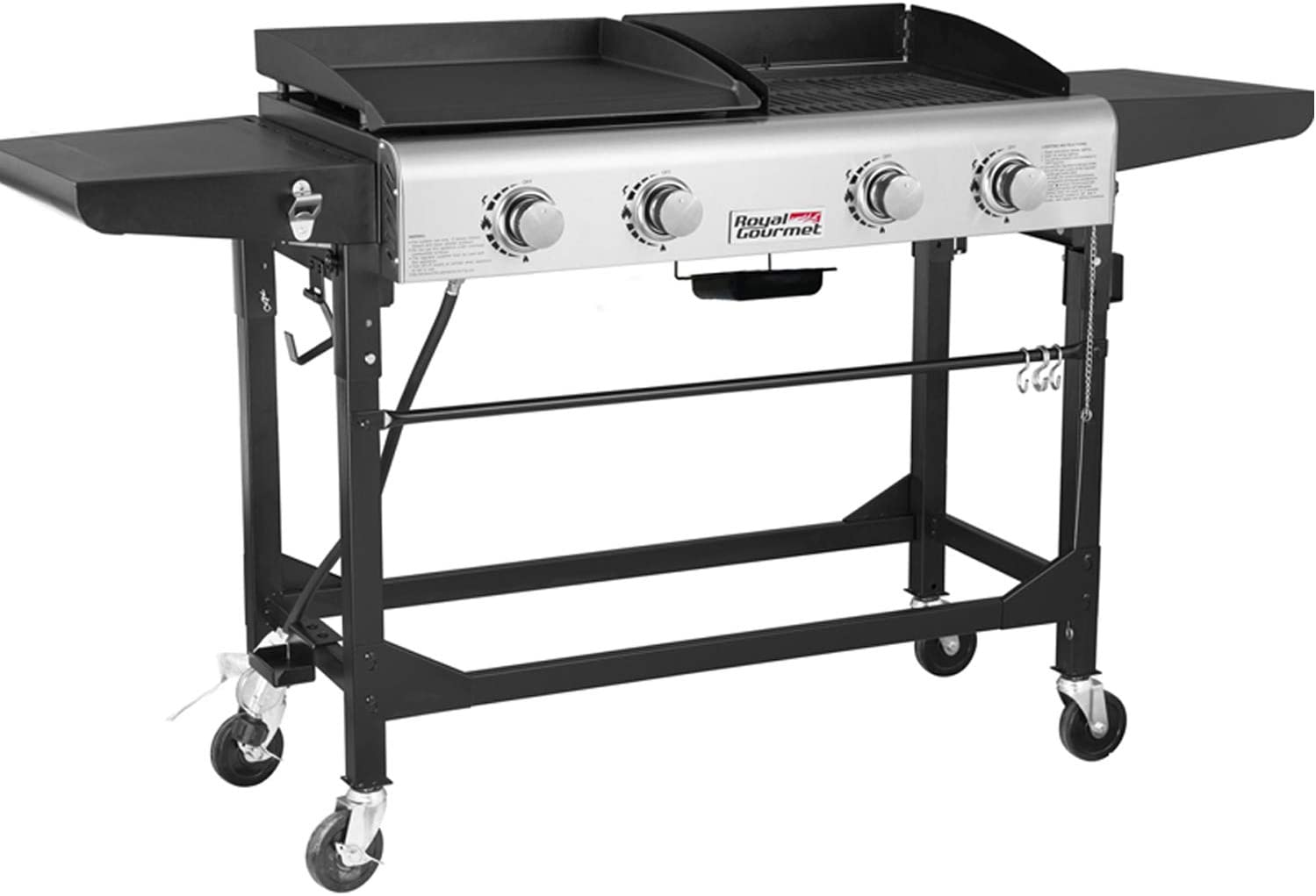 The Royal Gourmet Portable Propane Gas Grill and Griddle Combo Review