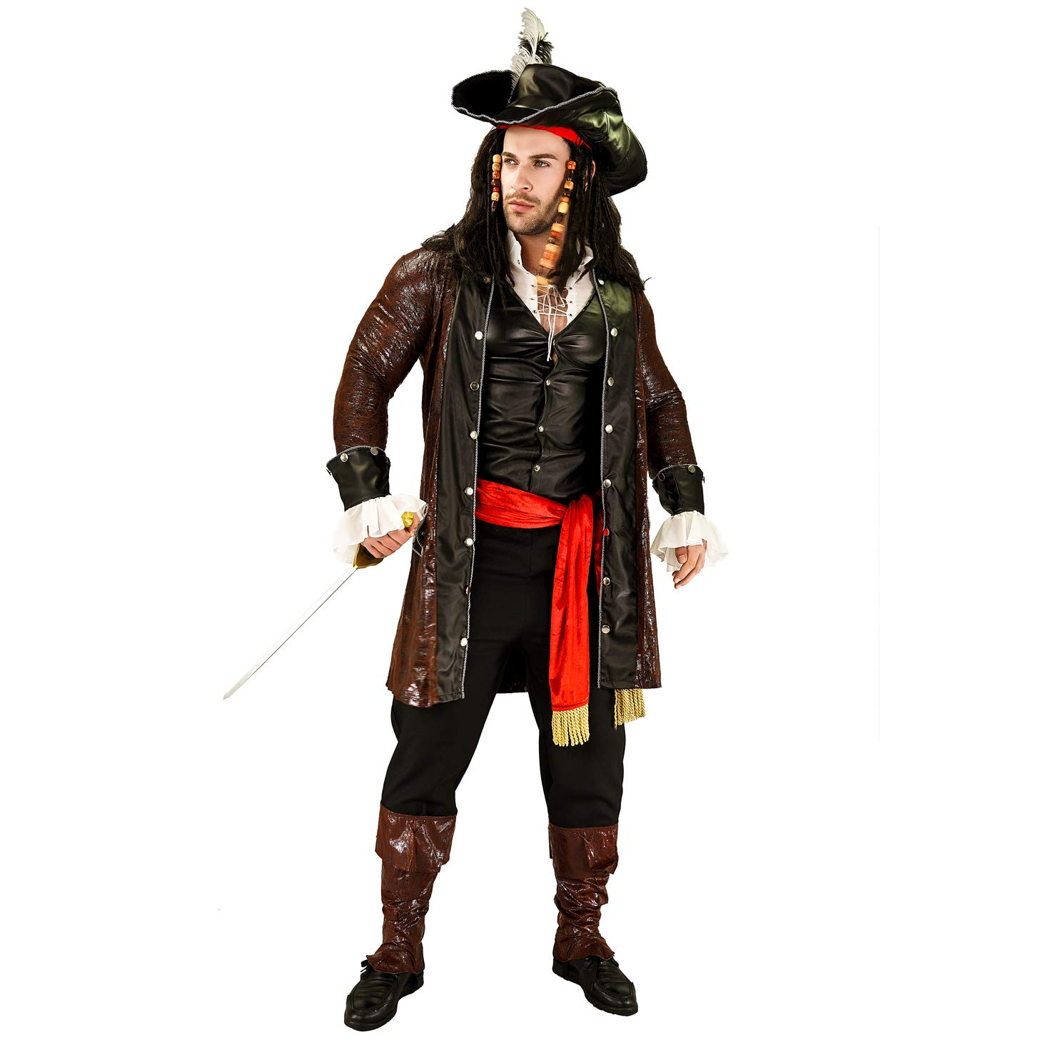 SEA HARE Trajes de Disfraces Pirata Hombres: Amazon.es: Juguetes y ...