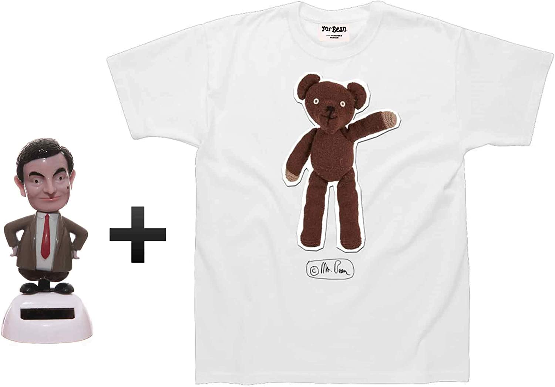 Personalised Name Mr Bean Cartoon Character Kids Girls Boys Unisex T-Shirt