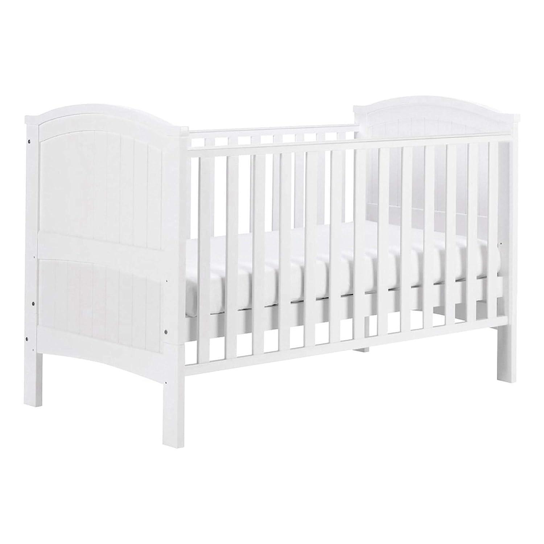watch 8a613 5946e East Coast Nursery Henley Cotbed White: Amazon.co.uk: Baby