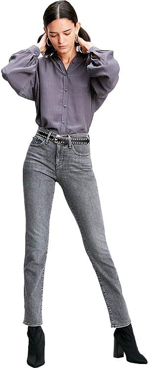 Pantalones Vaqueros para Mujer Levis® 312 Shaping Slim Fit – Gris – Grey Denim W26-W34: Amazon.es: Ropa y accesorios