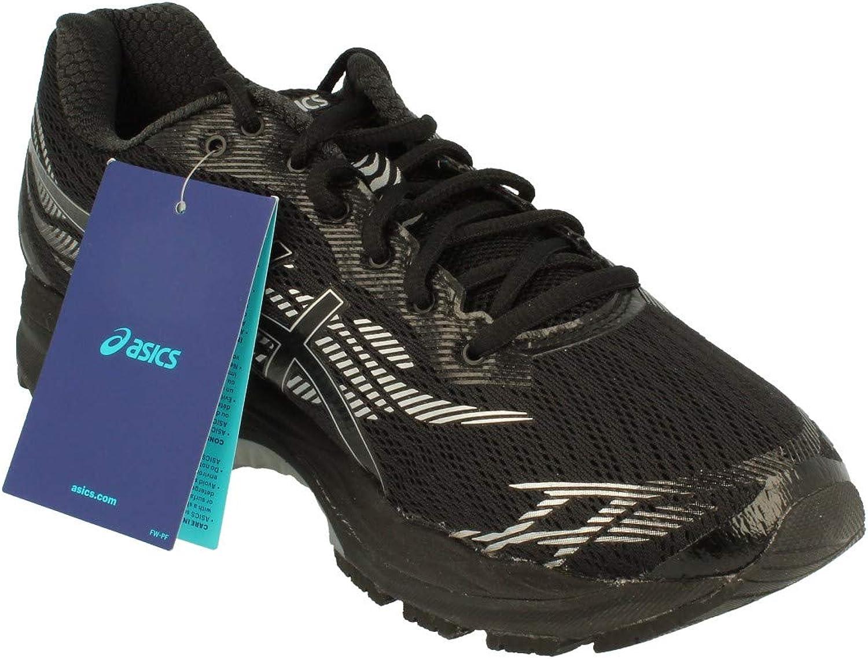 Asics Gel-Ziruss Hombre Running Trainers T7J1N Sneakers Zapatos (UK 11.5 US 12.5 EU 47, Black Silver 9090): Amazon.es: Zapatos y complementos