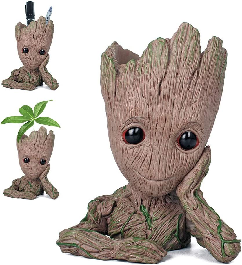 Pawaca Flowerpot Groot Cartoon Flowerpot £5.99 + FREE delivery @ Amazon