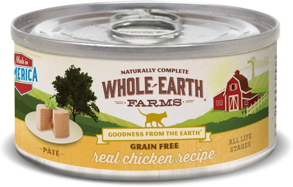 Pet Supply Merrick Whole Earth Farms Grain Free Real Chicken Recipe Cat 24/5Z
