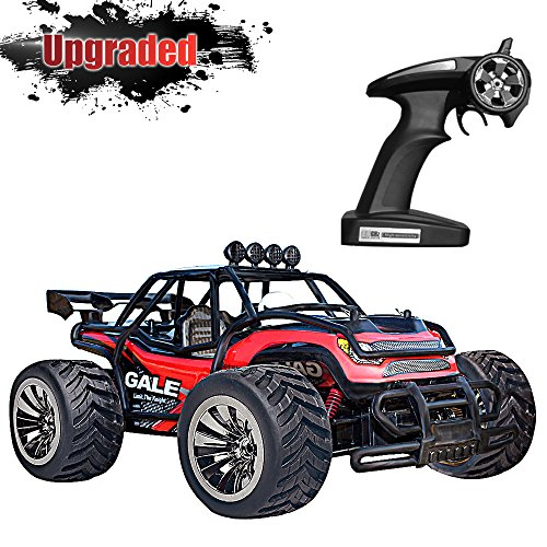 Off Road Remote Control Buggy - VATOS RC Car, Remote Control Car Electric Racing Car Off Road 1:16 Scale Desert Buggy Vehicle 2.4GHz 50M 2WD High Speed Electric Race Monster Truck Hobby Rock Electric Buggy Crawler Best Toy Car