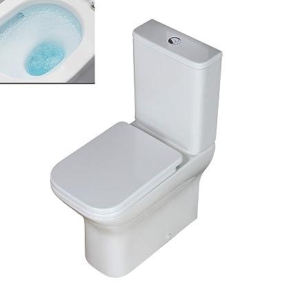 Bathroom Fixtures Klara Toilet Wc Close Coupled Rimless Bathroom