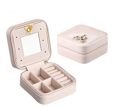 Amazoncom Cozhome 1PC Small Travel Jewelry Box Organizer Storage