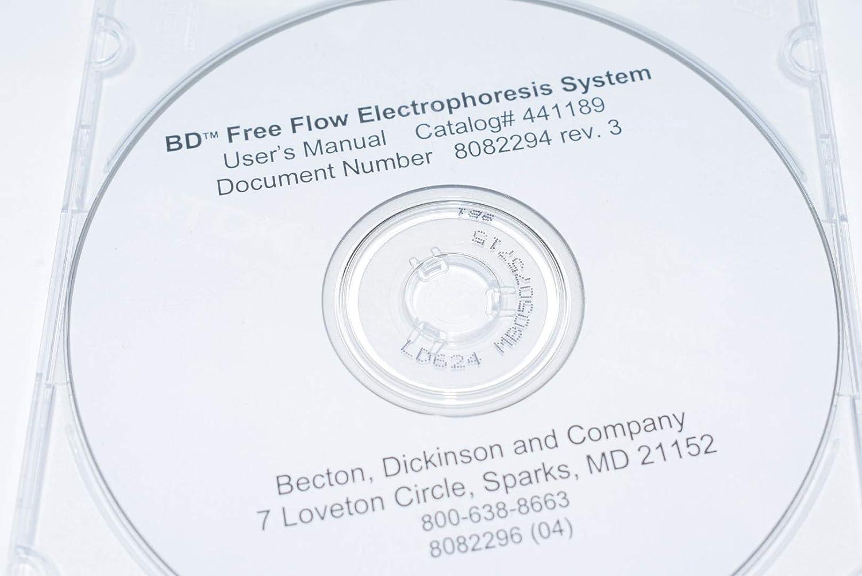 BD 441189 Rev 3 Free Flow Electrophoresis System Software
