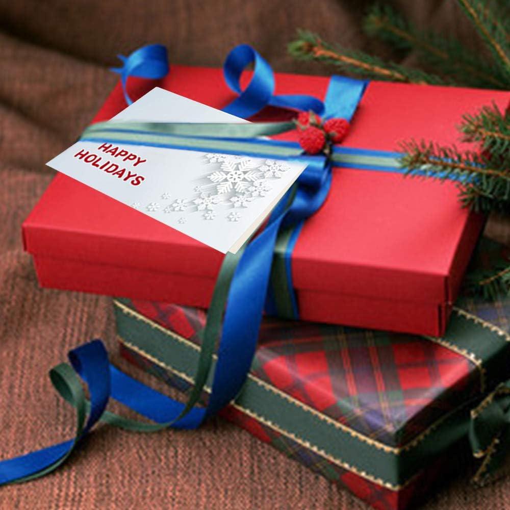 Gudotra Kit 30pz Biglietti di Auguri Natalizi Merry Christmas