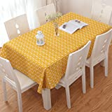 Ocama Table Cover for Home Restaurant Picnic Banquet Household Decoration