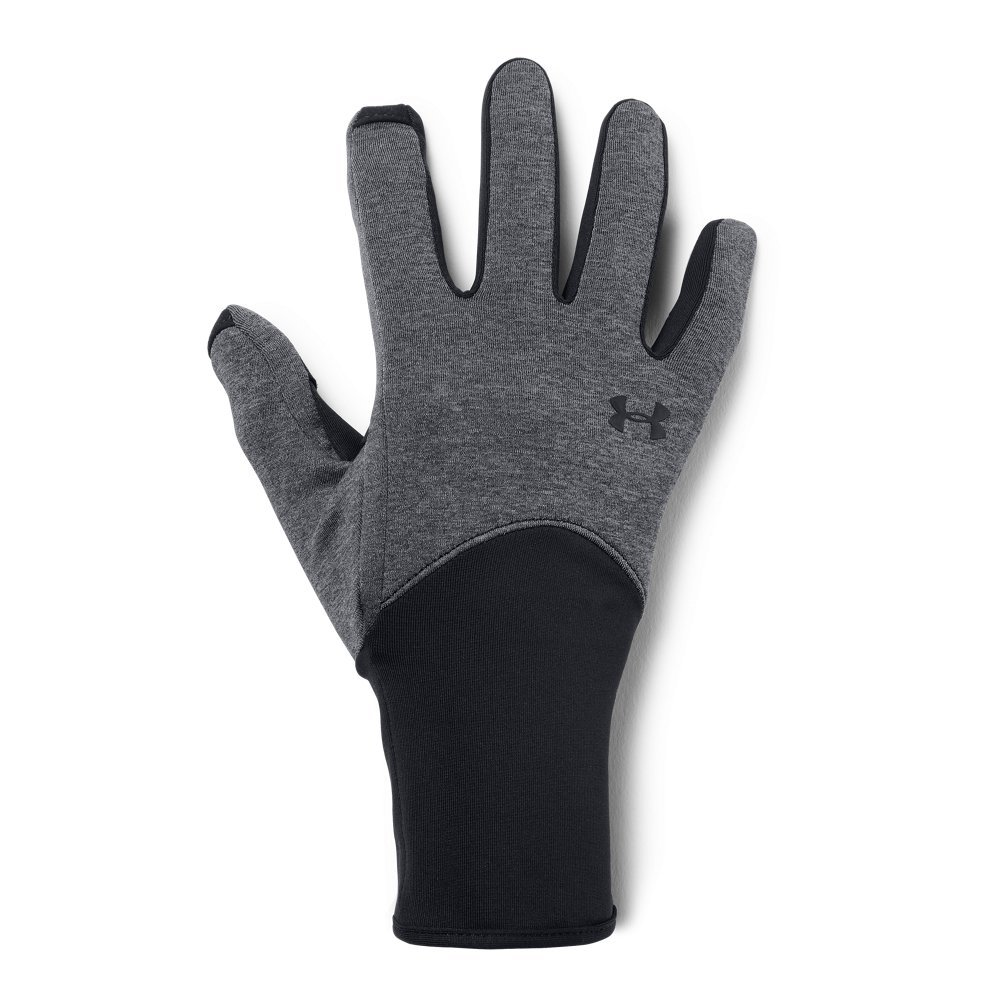 Under Armour Women's Ponte Liner Glove, Black (001)/Black, Large