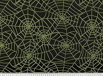 grün 145cm Spinnennetz Nylon beflockt