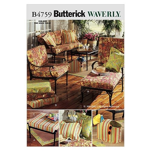 (BUTTERICK PATTERNS B4759 Outdoor Living, One Size)