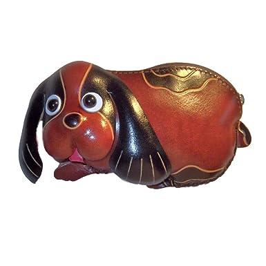 Amazon.com: anipals Puppy Purse, color café perro – Monedero ...