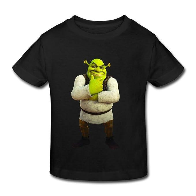 3e259abc6 Kids Toddler Shrek Little Boy's Girl's T-Shirt Black Size 3 Toddler ...