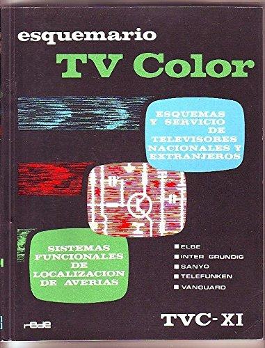 ESQUEMARIO TV COLOR XI (ED. REDE): Amazon.es: VV.AA, REDE: Libros