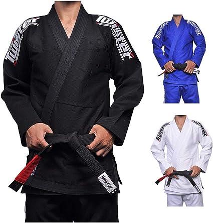 Twister Victory BLACK Jiu Jitsu Bjj Gi Ultra Light IBJJF Spec With Free Belt