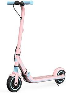 Trottinette électrique Segway rose pour enfant