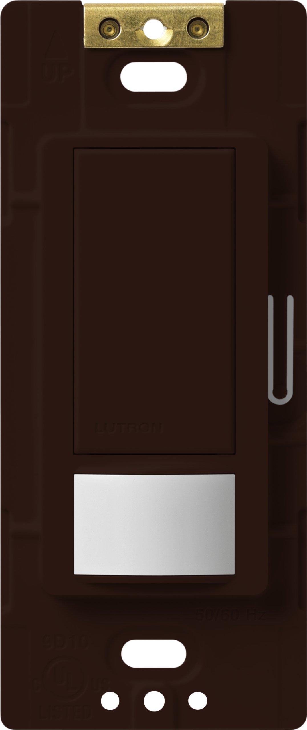 Lutron Lutron MS-VPS5M-BR Maestro 600-Watt Single Pole/3-Way Vacancy Sensor Switch, Brown