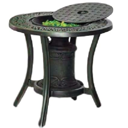 Remarkable Amazon Com Ats Fire Pit Urn Table Gas Propane Bar Outdoor Uwap Interior Chair Design Uwaporg