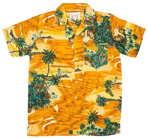 ragstock-mens-caribbean-beach-print-hawaiian-shirt-tan-medium