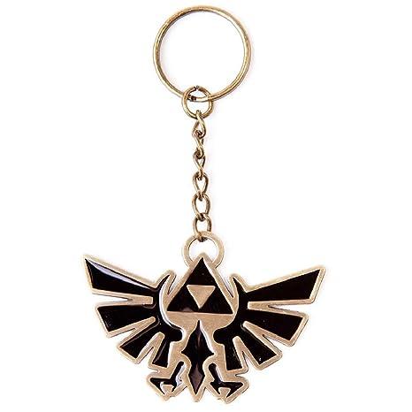 Amazon.com: Nintendo Zelda Bird oficial Nuevo Metal Llavero ...