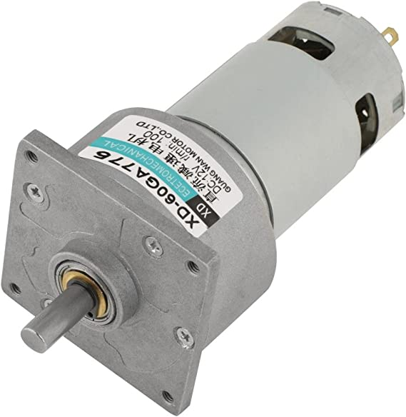 Dc12v 24v 35w Mini Dc Getriebemotor Metall Geschwindigkeit Einstellbar Großen Drehmoment Motor Cw Ccw 12 V 100 U Min Beleuchtung