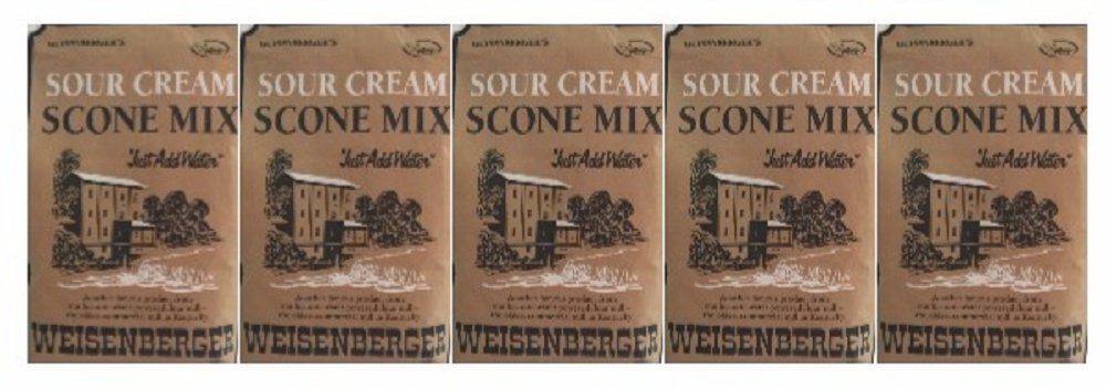 Weisenberger Mills Sour Cream Scone Mix- A Ky Proud Product 8 Oz Ea 5 Packs