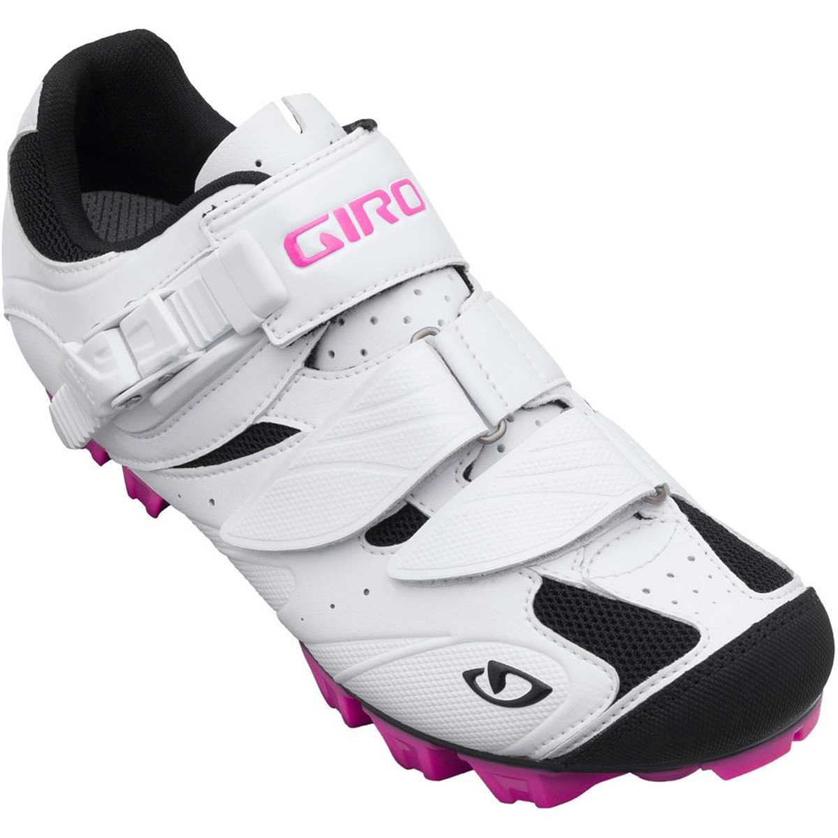 Giro Manta Damen MTB Schuhe weiß rot 2014  Größe  38.5