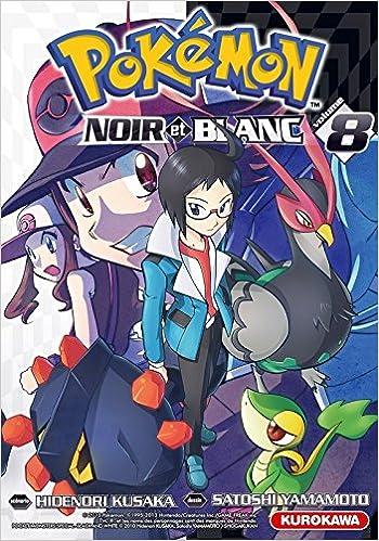 livre manga pokemon noir et blanc
