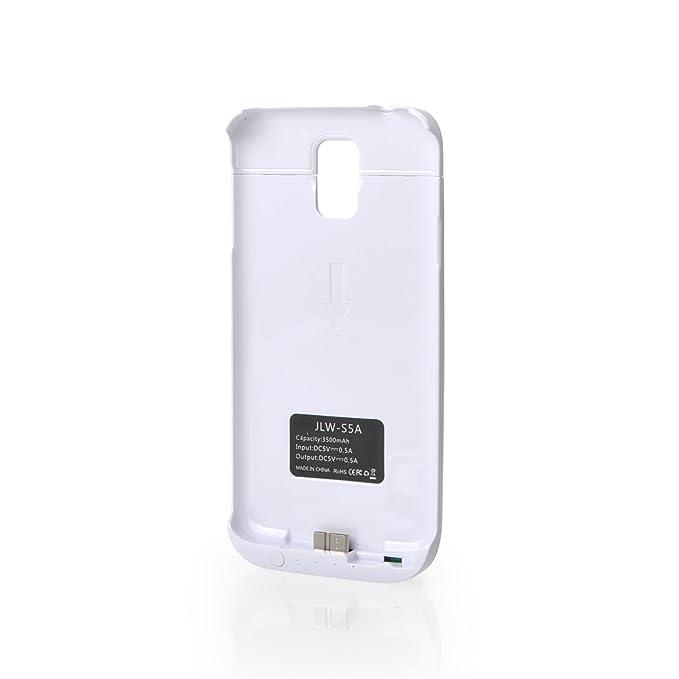 3500 mAh blanco Samsung Galaxy S5 mAh cargador de batería ...