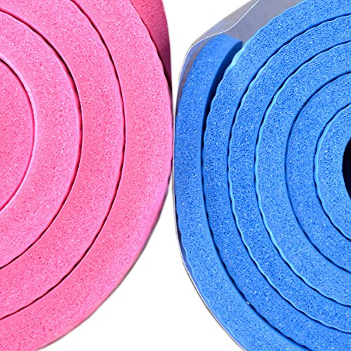 Physio World Thick Exercise Mat - 15mm Pink by phy (Image #3)