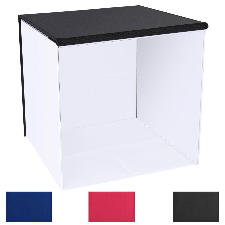 Neewer 60 x 60 cm Tablero de la Mesa para Estudio de fotografía Caja de luz/Tienda de campaña: Amazon.es: Electrónica