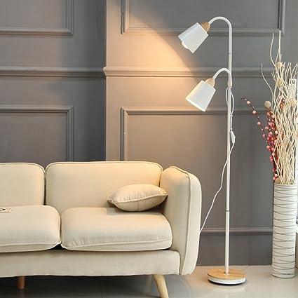 MMM Doble Cabeza Lámpara de pie Protección para los ojos LED ...