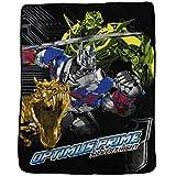 Kids Super Plush Sherpa Throw Blanket, 46x60-Inch (Transformers Optimus Prime)