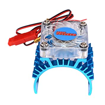 MagiDeal 540 Motor Radiador Disipador de Calor con 5V Ventilador de Enfriamiento para 1/10