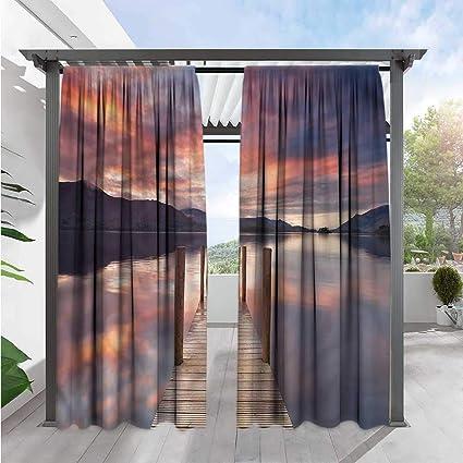 Amazon.com: Marilds Cortinas de paisaje para ventana de ...