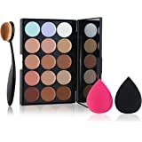 RUIMIO Contour Kit Highlighting Cream Contour Palette 15 Colors