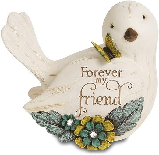 "Friendship Music Box by Pavilion Elements 6"" L x 4"" W x 2.5"" H Free U.S SHIP"