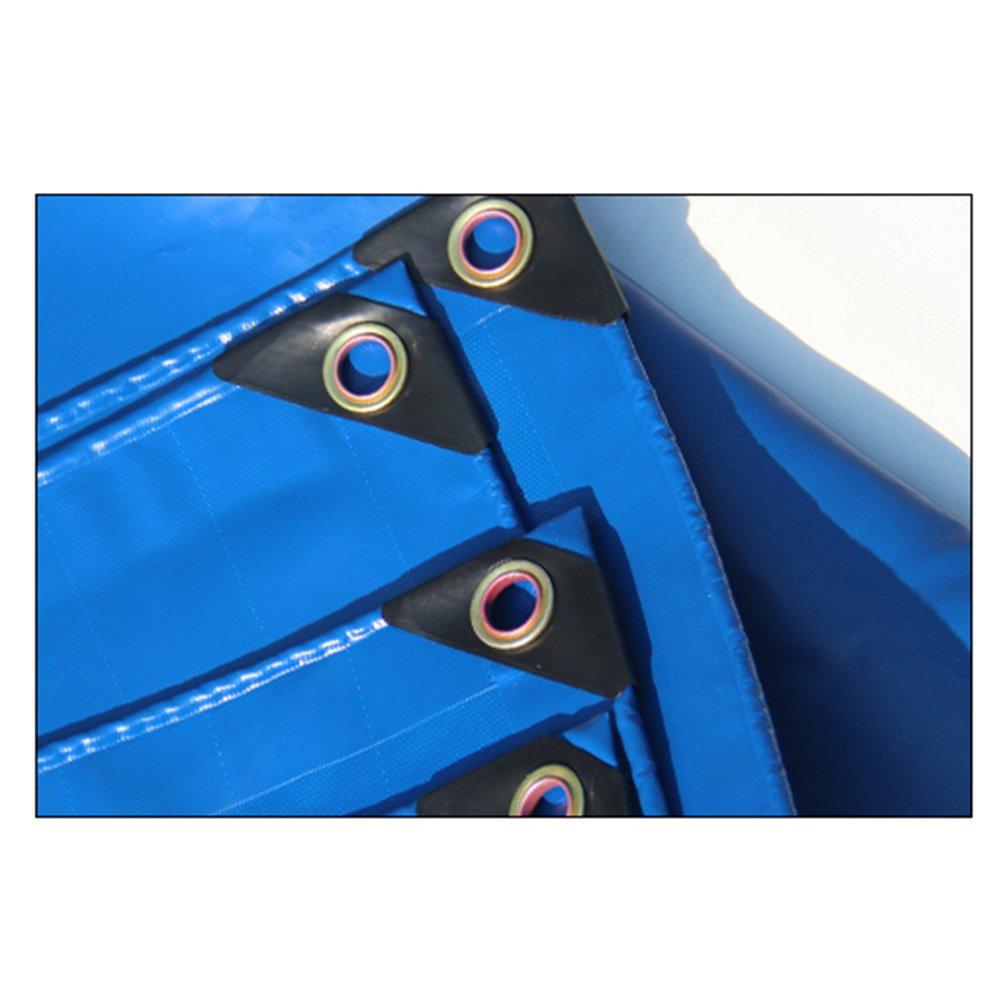Persenning HUO Dauerhafte Dauerhafte Dauerhafte Plane, LKW-Fracht-Abdeckungs-Tuch, Leichter Starker Wasserdichter Anti-UV Shed-Stoff, Blau, 450g M2 (Farbe   Blau, größe   1.52m) B07DBXPGXG Zeltplanen Saisonaler heißer Verkauf 9c06a3