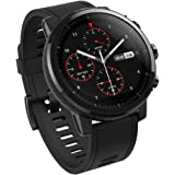 Amazfit Stratos Multisport Smartwatch with Vo2Max, Heart Rate, Activity Tracking, Gps, 5 Atm Water resistance (Black)