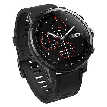 Xiaomi Amazfit Stratos - Smartwatch con GPS y Sensor de frecuencia cardíaca (Resistente al Agua